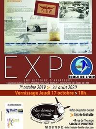 Exposition Une Histoire d'Aviateurs