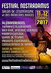 Festival Nostradamus : Salon de l'ésotérisme et des médecines douces