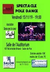 Pole dance au profit M'totoSchool