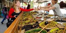 Le grand marché - Salon-de-Provence