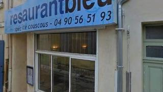 Le restaurant Bleu - Salon-de-Provence