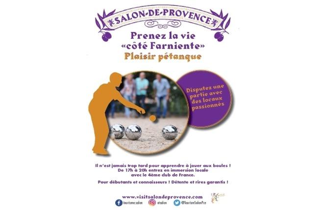 Plaisir Pétanqe 1 - Salon-de-Provence