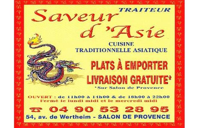 Saveurs d'Asie 1 - Salon-de-Provence