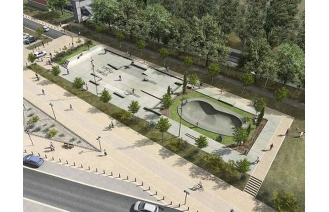 Skate Park de Salon 1 - Salon-de-Provence